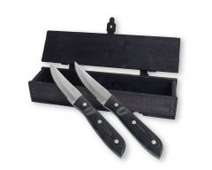 Gense - Old Farmer - Grillkniv XL 2-pack svart